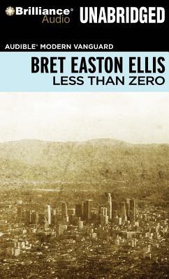 Less Than Zero Cover