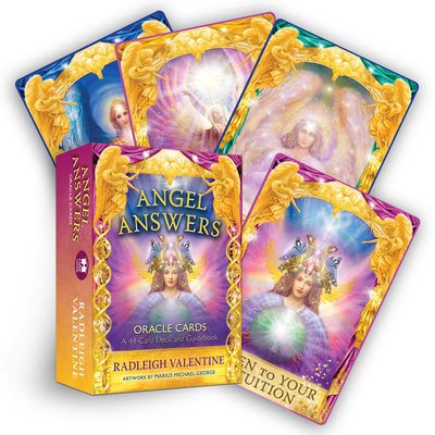 Angel Answers Oracle Cards: A 44-Card Deck and Guidebook Cover Image