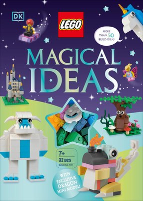 LEGO Magical Ideas: with exclusive LEGO Neon Dragon model Cover Image