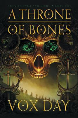 A Throne of Bones (Arts of Dark and Light #1) Cover Image