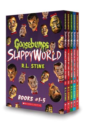 Goosebumps SlappyWorld Box Set: Books 1-5 Cover Image