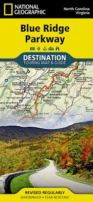 Blue Ridge Parkway (National Geographic Destination Map) Cover Image