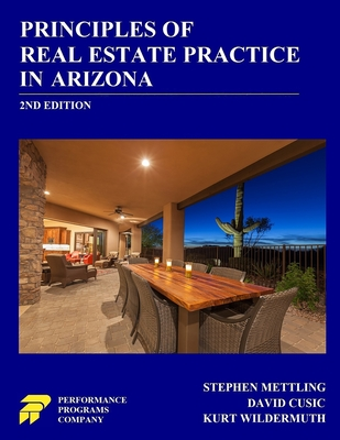 Principles of Real Estate Practice in Arizona: 2nd Edition Cover Image