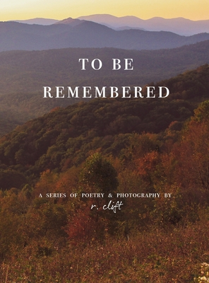 to be remembered Cover Image