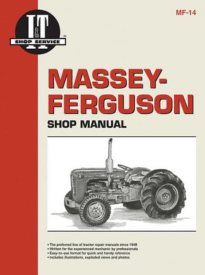 Massey-Ferguson Shop Manual Models TO35 TO35 Diesel F40+ Cover Image