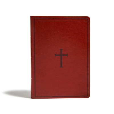 Cover for KJV Super Giant Print Reference Bible, Brown LeatherTouch