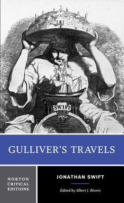 Gulliver's Travels: Based on the 1726 Text: Contexts, Criticism (Norton Critical Editions) Cover Image