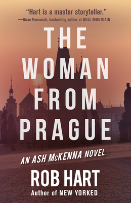 Cover for The Woman from Prague (Ash McKenna #5)