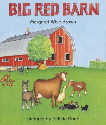 Big Red Barn Board Book Cover Image
