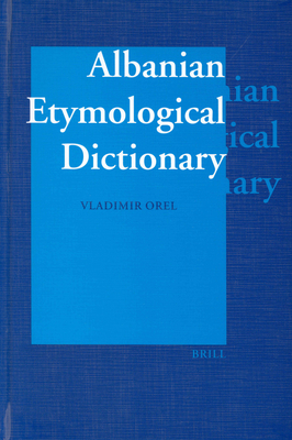 Cover for Albanian Etymological Dictionary