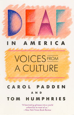 Deaf in America: Voices from a Culture Cover Image