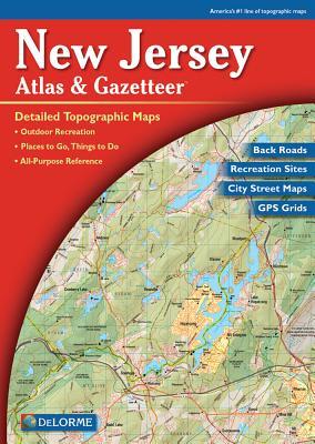 Delorme New Jersey Atlas & Gazetteer Cover Image