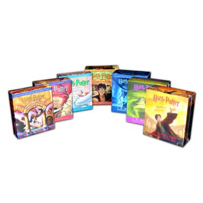 Harry Potter 1-7 Audio Collection Cover Image
