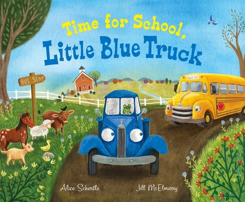 Time for School, Little Blue Truck Cover Image