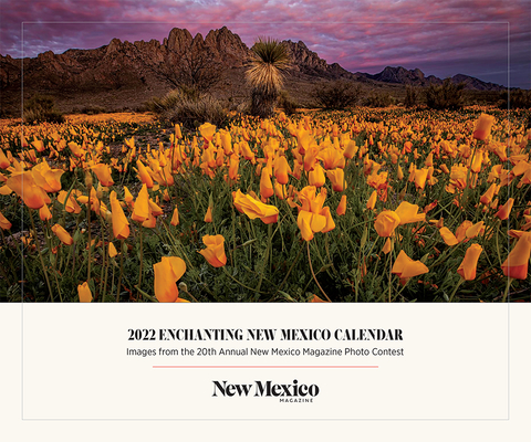 2022 Enchanting New Mexico Calendar: Images from the 20th Annual New Mexico Magazine Photo Contest Cover Image