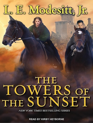 The Towers of the Sunset (Saga of Recluce (Audio) #2) Cover Image