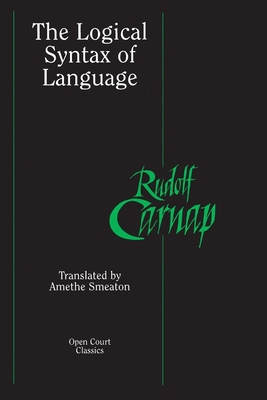 The Logical Syntax of Language Cover Image