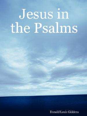Cover for Jesus in the Psalms