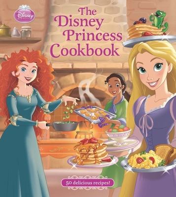 The Disney Princess Cookbook Cover Image