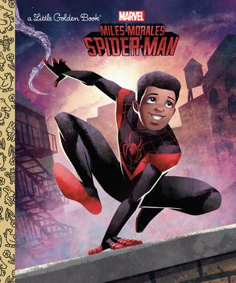 Miles Morales (Marvel Spider-Man) (Little Golden Book) Cover Image