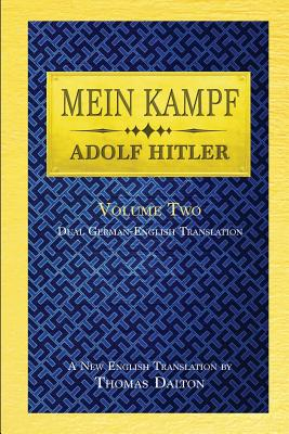 Mein Kampf (vol. 2): Dual English-German Translation Cover Image