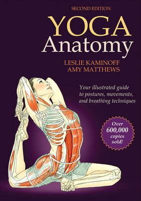 Yoga Anatomy Cover Image