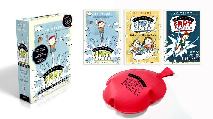 Doctor Proctor's Fart Powder The Fart-tastic Boxed Set: Doctor Proctor's Fart Powder; Bubble in the Bathtub; Who Cut the Cheese? (with free whoopee cushion inside!) Cover Image