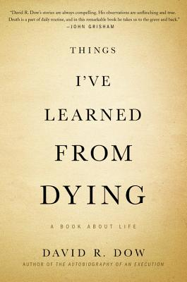 Things I've Learned from Dying Cover