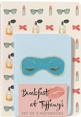 Breakfast at Tiffany's Notebooks (Set of 3) Cover Image