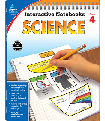 Science, Grade 4 (Interactive Notebooks) Cover Image