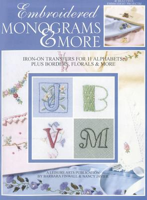 Embroidered Monograms & More Cover