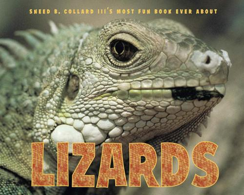 Sneed B. Collard III's Most Fun Book Ever about Lizards Cover