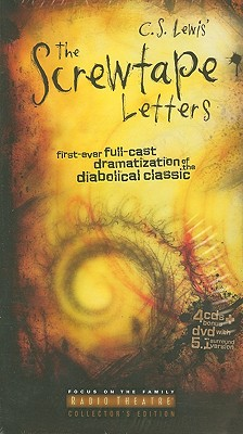 The Screwtape Letters: First Ever Full-Cast Dramatization of the Diabolical Classic [With DVD] Cover Image