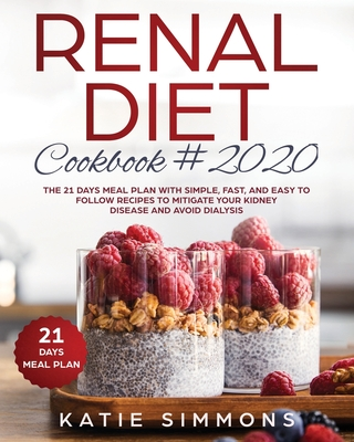 Renal Diet Cookbook Meal Plan Cover Image