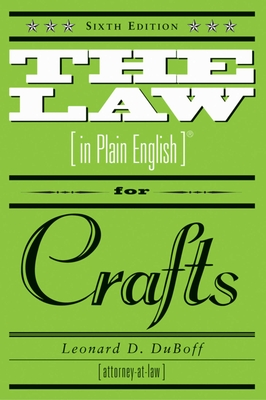 Cover for The Law (in Plain English) for Crafts