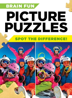 Brain Fun Picture Puzzles: Spot the Differences! Cover Image