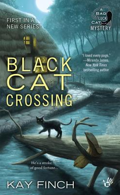 Black Cat Crossing (A Bad Luck Cat Mystery #1) Cover Image