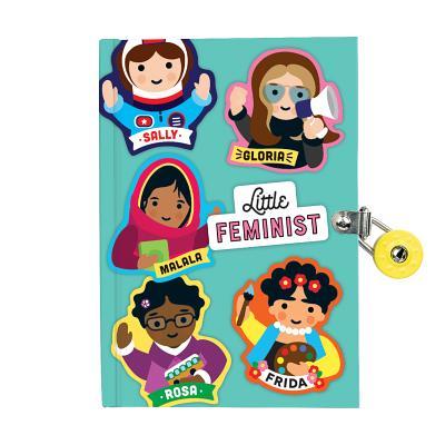 Little Feminist Locked Diary Cover Image