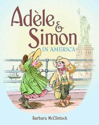 Cover for Adèle & Simon in America (Adele & Simon)