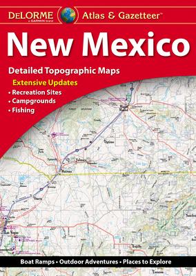 Delorme New Mexico Atlas & Gazetteer Cover Image