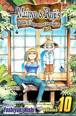 Cover for Muhyo & Roji's Bureau of Supernatural Investigation, Vol. 10