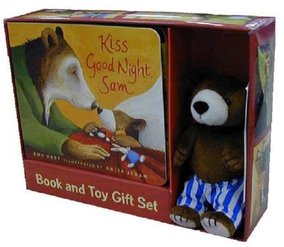 Kiss Good Night: Book and Toy Gift Set (Sam Books) Cover Image