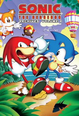 Sonic the Hedgehog Archives Cover