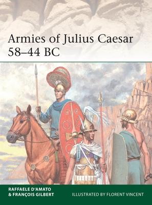 Armies of Julius Caesar 58–44 BC (Elite) Cover Image