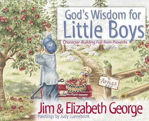 God's Wisdom for Little Boys: Character-Building Fun from Proverbs Cover Image