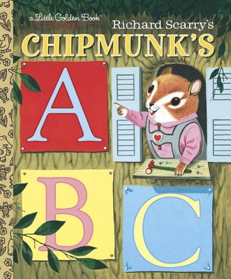 Richard Scarry's Chipmunk's ABC Cover