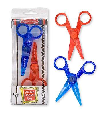 Child-Safe Scissor Set (2 Pcs) Cover Image