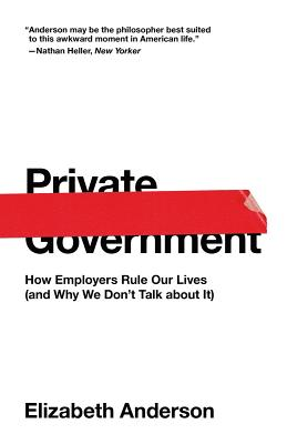Cover for Private Government