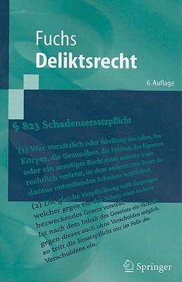 Deliktsrecht (Springer-Lehrbuch) Cover Image