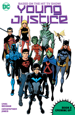 Young Justice Book Two: Growing Up Cover Image